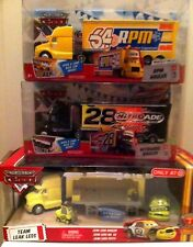 "Disney PIXAR CARS 2 PACK Sets ""Ruby Oaks & Pitty"" & ""Chief RPM & Petrol"" NEW"