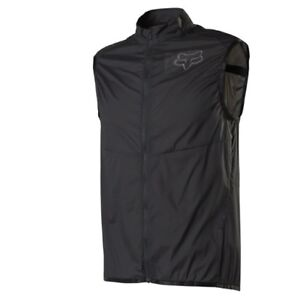 Fox Racing Mountain Bike Dawn Patrol Wind Vest [Black] Small