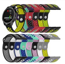 For Garmin Vivoactive 3 Silicone Sports Strap Breathable Band