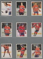 1981-82 O-Pee-Chee Hockey Sticker Montreal Canadiens Complete Team Set (23) OPC