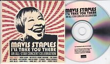 MAVIS STAPLES I'LL TAKE YOU THERE  - RARE PROMO CD [BUDDY MILLER/PATTY GRIFFIN]