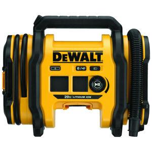 DEWALT DCC020IB 20V MAX Corded/Cordless Air Inflator New
