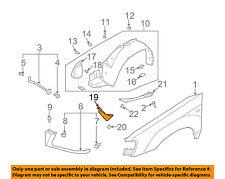 SUBARU OEM 03-08 Forester Fender-Air Baffle Left 59123SA011