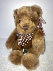 """Vtg 1990's Collectible 6"""" Plush Teddy RUSS Stuffed Animal MIDAS Bears From Past"""