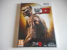 JEU WII -  WWE 12