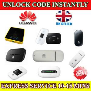 Unlocking Unlock Code For HUAWEI E586E, E585v2, E585u-82 USB Modem Instantly