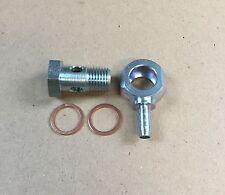 Hohlschraube M14x1,5 / Ringnippel mit Schlüsselfäche für PA-Rohr innen 6mm