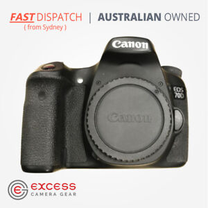 Canon EOS 70D Black DSLR Digital Camera Pre Owned, Untested, AS-IS, Parts Only