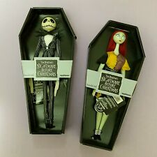 1993 Nightmare Before Christmas JACK + SALLY COFFIN DOLLS by APPLAUSE Original!