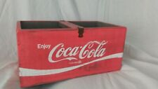 Wooden Coca Cola box with handle. New.