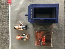Doctor who  character building Tardis  mini set - USED