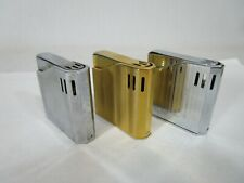 LOT of 3 Vintage Maruman Halley Butane Lighters Japan