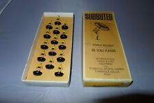 More details for vintage subbuteo r1 australia chunky team black yellow international rugby