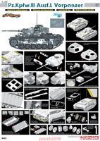 Dragon 6422 1/35 Pz.Kpfw.III Ausf.L Vorpanzer Model kit