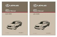 2001 Lexus LS 430 Shop Service Repair Manual Book Engine Drivetrain OEM