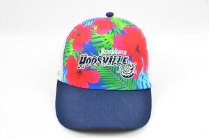 Pensacola Blue Wahoos Hoosville Minor league Baseball Tropical Meshback Hat Cap