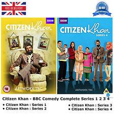 BBC COMEDIA-Citizen Khan Complete Series 1-4 Dvd Colección + especial navidad