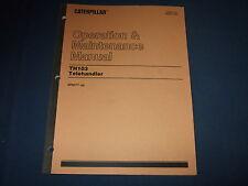 Cat Caterpillar Th103 Telehandler Operation Amp Maintenance Manual 3pn377 Up