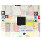 """American Crafts Hey Little Magpie Cloth D-Ring 12"""" x 12"""" Album w/ Cover Window"""