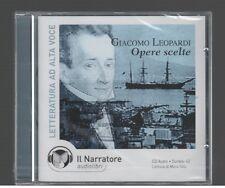 Giacomo Leoperadi OPERE SCELTE  il Narratore 2007 Audiolibro CD-Audio
