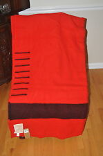 HUDSON  BAY BLANKET/NEW EIGHT POINT RED (KING SIZE)