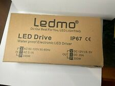 Outdoor Power Supply Waterproof Led Driver Lighting Transformers 12v300w