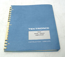 TEKTRONIX 7a24 instruction manual F. 7000er Série Dual Trace Amplifier PLUG-IN