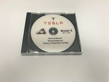 Tesla X model Service Repair Workshop Manual + Wiring diagram 2015-2016 diagnos