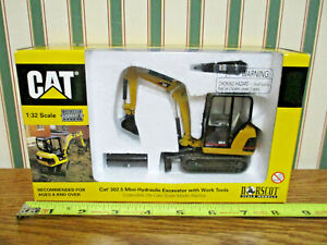 Caterpillar 302.5 Mini-Hydraulic Excavator With Work Tools By Norscot >