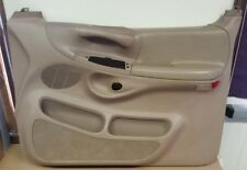 1997-1998 FORD F-150 PASSENGER SIDE RH POWER DOOR PANEL TAN
