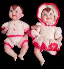 2 Vintage 1966 Original Maggie Head Bisque Dolls