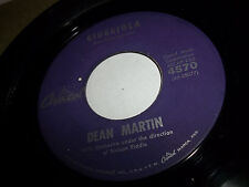 Dean Martin Giuggiola / The Sory Of Life Capital  45 USA VG+ TO EXCELLENT GLOSSY