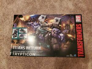 Transformers Titans Return Titan Class Trypticon with Necro MISB
