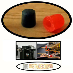 Für Dual Plattenspieler Liftheberkappe schwarz + Steuerpimpel rot