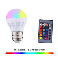 Lampada Lampadina LED RGB wireless bluetooth 3W + telecomando remote control