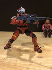 Mcfarlane Halo 3 Reach Video Game Action Figure Red Spartan Hayabusa With Sniper