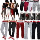 Men's Casual Track Pants Trousers Joggers Tracksuit Bottoms Sports Loose Slacks