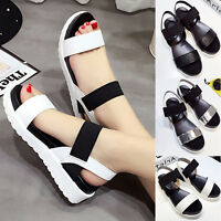 Summer Women Open Toe Platform High Heel Gladiator Peep Toe Sandals Chunky Shoes