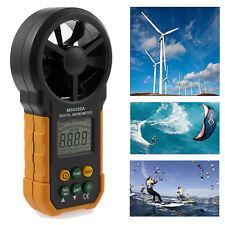 LCD Digital HYELEC MS6252A Anemometer Wind Speed Meter Air Volume Measure Tester