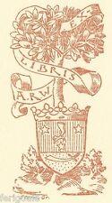 EX-LIBRIS de A. R. WACHTMEISTER. Courlande.
