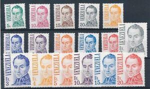 [21348] Venezuela Good set very fine MNH stamps