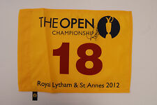 Tony Jacklin SIGNED Autograph AFTAL COA US Tour Open GOLF Lytham Flag 2012