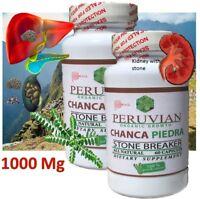 CHANCA PIEDRA PHYLLANTUS NIRURI LIVER KIDNEY STONE 1000 MG 120 caps ORGANIC GROW