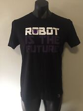Transformers Robot Is The Future Black Short Sleeve Graphic T-Shirt Size XL