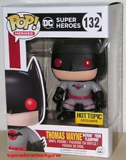 FUNKO POP DC HEROES THOMAS WAYNE BATMAN #132 FLASHPOINT HT EXCLUSIVE In Stock