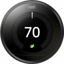 Brand New Nest Learning Smart Thermostat 3rd Generation -Black-