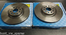 JURATEK QUALITY FRONT BRAKE DISCS - 345MM -vag142 VW SEAT SKODA AUDI