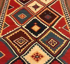 An Awesome Color Combination Persian Gashgaei Kilim