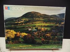 New 1982 Milton Bradley 2000 Pc Jigsaw Puzzle Sunrise Landscape