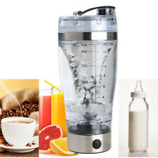 450ml USB Rechargeable Mixing Cup Bottle Shaker Protein Milk Coffee Drink